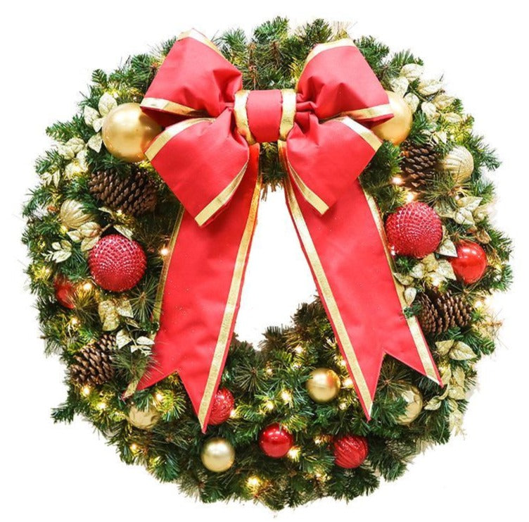 Holiday Favorite Decorated Wreath