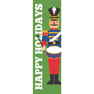 Toy Soldier Christmas Banner
