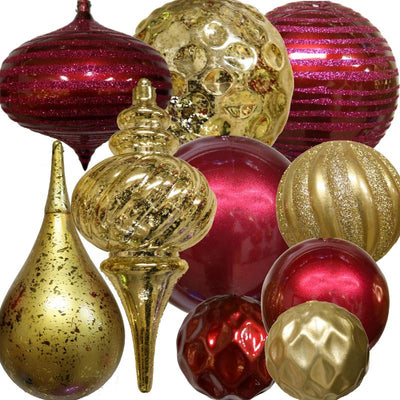 Traditional Decor Christmas Tree Package 7.5FT-15FT Sizes