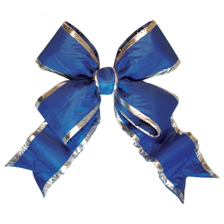 Blue Structural Bow with Silver Trim