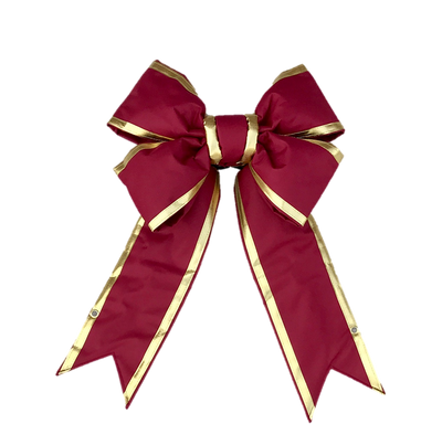 Gold-Trimmed Structural Bow