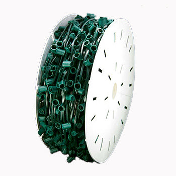 "C7-1000FT Spool 12"" Spacing Green Wire"