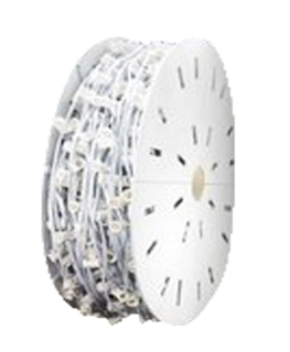 "C9-1000FT Spool, 12"" Spacing, White Wire"