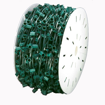 "C9-1000FT Spool, 12"" Spacing - GREEN WIRE"