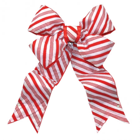 Candy Cane Structural Bow