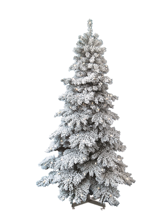 Spruce Snow Capped Christmas Tree