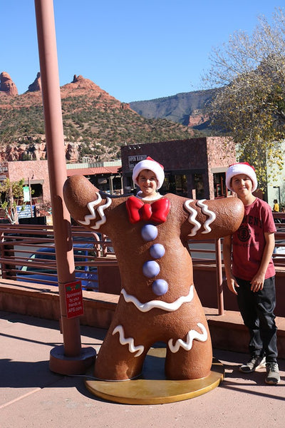 Gingerbread Man Photo Pod