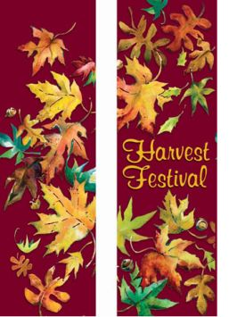 Harvest Double Banner