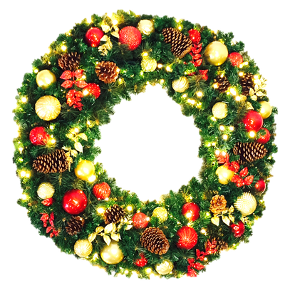 Wreath - Holiday Favorite Decor - 3' - 8' Sizes