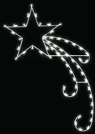 Shooting Star Light Pole Decoration