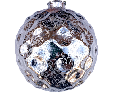 Checker Ball Mercury Finish Ornaments