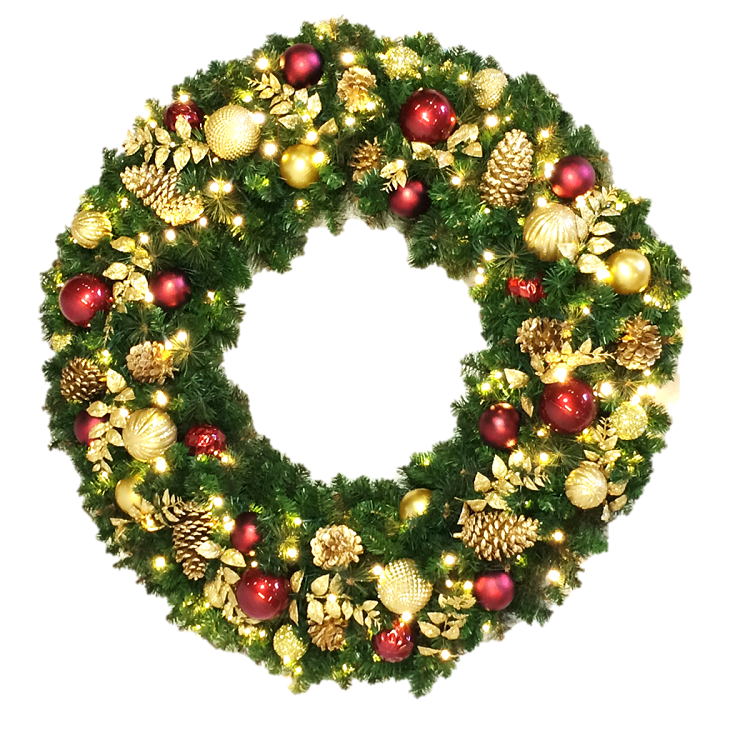 Wreath - Traditional Decor - 3' - 8' Sizes