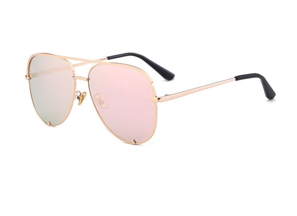 Hot Designer Metal Mirror Aviator Sunglasses - 7 Colours!