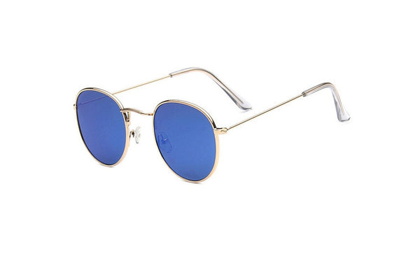 Retro Round Alloy Mirror Sunglasses - 13 Colours!
