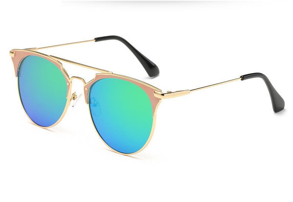 Deluxe Round Vintage Mirror Lens Sunglasses - 10 Colours!