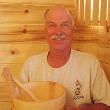 Timo the Saunaman - 25 years of sauna design experience in the US