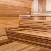 dundalk luna sauna 2 tier benches