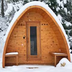 Dundalk Leisure Craft Pod sauna available online at Divine Saunas