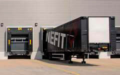 free shipping to a loading dock