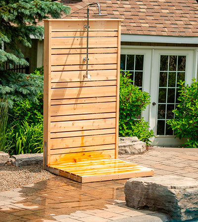 Dundalk Savannah Outdoor Shower, White Cedar