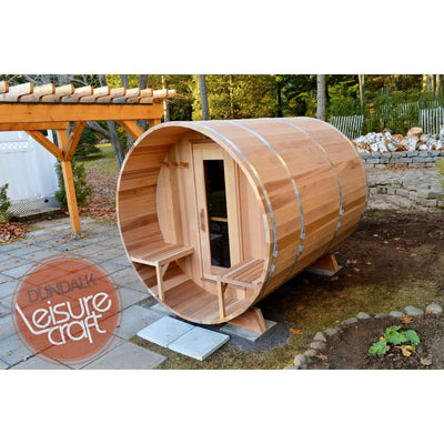 Barrel Outdoor Sauna
