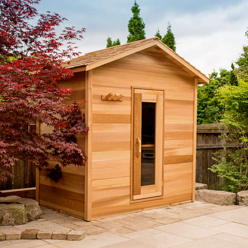 Dundalk Outdoor Cabin Sauna, up to 6 people, fully customizable