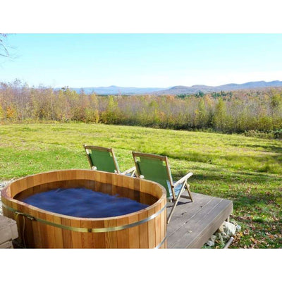 Hot Tub, Oval, 2 People, All Natural