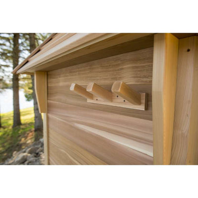 Dundalk Outdoor Kota Sauna for up to 8 people, fully customizable