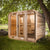 Dundalk Outdoor Luna Sauna for up to 8 people, fully customizable