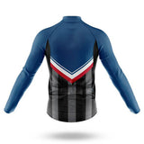 Captain America Long Sleeved Cycling Jersey (with Fleece Option)