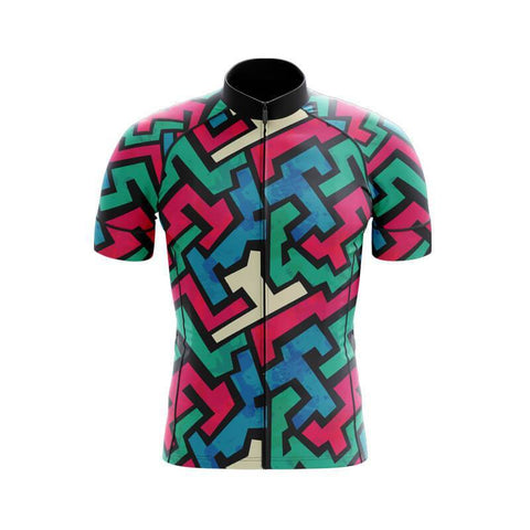 Jazzy Lines Retro Cycling Jersey Set