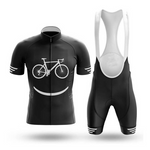 Bike Smiley Face Retro Cycling Jersey Set