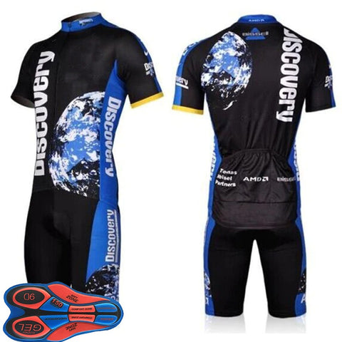 Discovery Channel Cycling Jersey Set