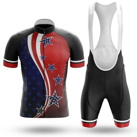 American Flag Cycling Jersey Set