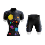 Women's Solar System Planets Cycling Jersey Sets