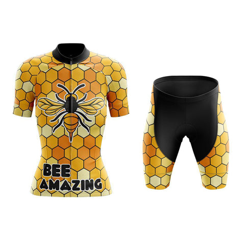 Women's Bee Amazing Cycling Jersey Sets
