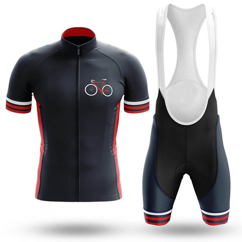Steel Frame Bike Retro Cycling Jersey Set