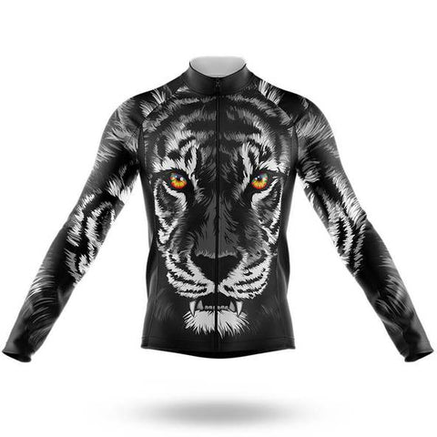 Big Tiger Long Sleeved Cycling Jersey (with Fleece Option)