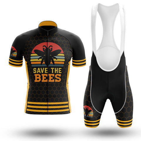 Save The Bees Cycling Jersey Set