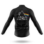 Dark Side of the Moon Long Sleeved Cycling Jersey (with Fleece Option)