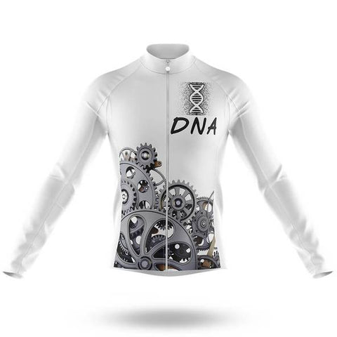 Cycling DNA Long Sleeved Jersey (with Fleece Option)
