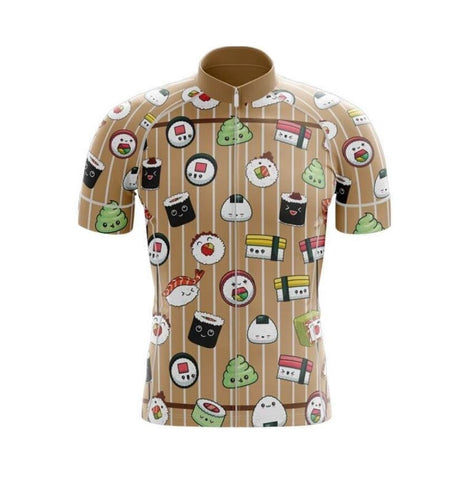 Japanese Sushi Rolls Cycling Jersey