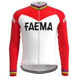 Faema 1969 Retro Cycling Jersey Long Set (With Fleece Option)