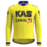 KAS Canal Retro Cycling Jersey Long Set (With Fleece Option)