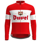 Duvel Beer Retro Cycling Jersey Long Set (With Fleece Option)