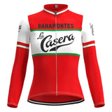 Women's La Casera-Bahamontes Retro Cycling Jersey Long Set
