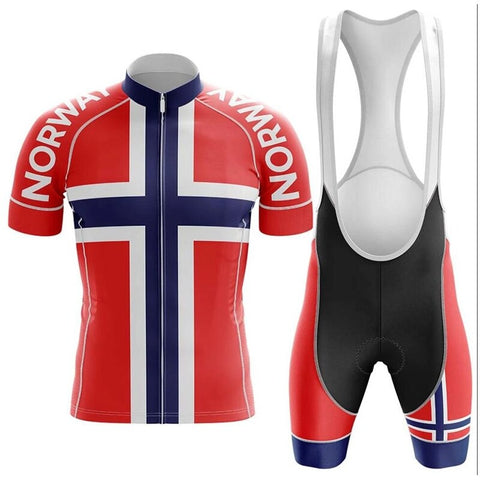 Norway Pro Team Cycling Jersey Sets