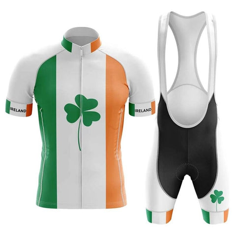 Ireland Pro Team Cycling Jersey Sets