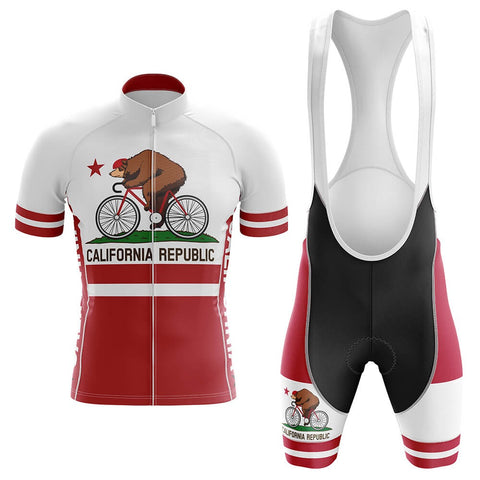 California Republic Cycling Jersey Sets