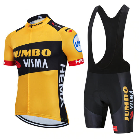 Jumbo Visma Pro Team Cycling Jersey Set